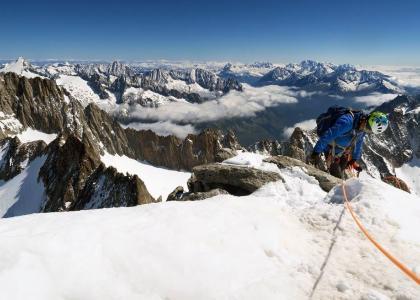 Si sbuca in vetta Galenstock 3586 m