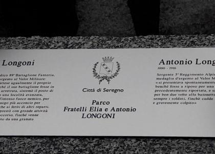 Intitolazione Parco di via Reggio ai Fratelli Longoni