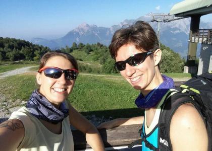 Carletta e Caterinaaaa pronte per la loro avventura