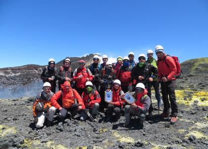 vetta dell'Etna