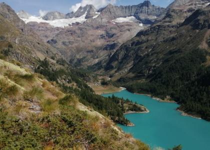 Valpelline lago di Place Moulin