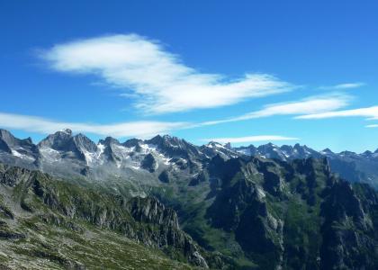 il Gruppo montuoso del Masino-Bragaglia dal Pizzo Badile al Mont Disgrazia