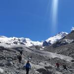 Ai piedi del ghiacciaio