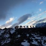 Fantasmi nell'alba della Valmalenco