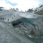 La bocca del ghiacciaio