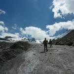 di ritorno dal ghiacciaio