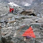 Rilievi al ghiacciaio Tremogge