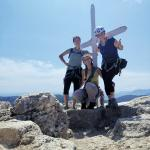 In cima alla Rocca di Perti