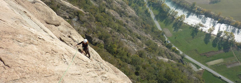 in scalata sulla Corma Machaby